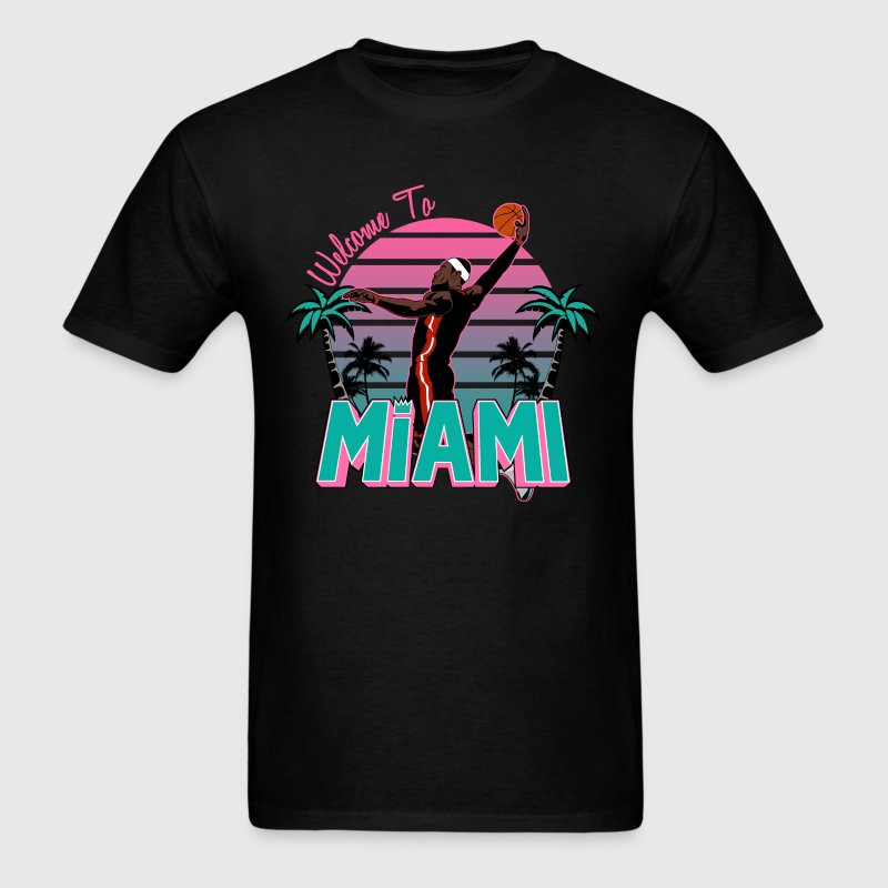 VICTRS Welcome to Miami South Beach Shirt - Men's T-Shirt