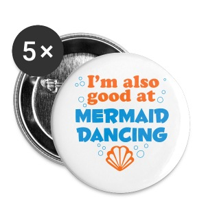 Mermaid Dancing - Small Buttons