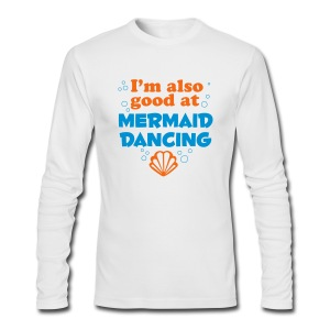 Mermaid Dancing - Men's Long Sleeve T-Shirt by Next Level