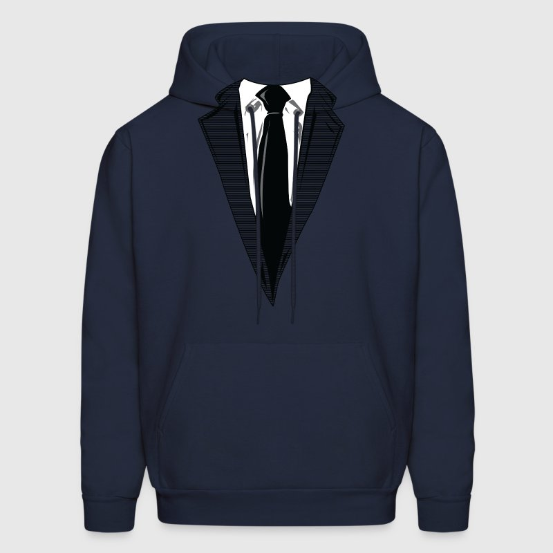 Coat and Tie and Suit and Tie t-shirts Hoodies - Men's Hoodie