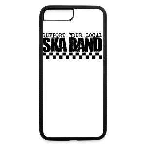 DOWN BEAT - Support Your Local Ska Band 5 Pack 1 Buttons - iPhone 7 Plus/8 Plus Rubber Case