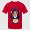Sexy Girl T-Shirts - Men's T-Shirt by American Apparel