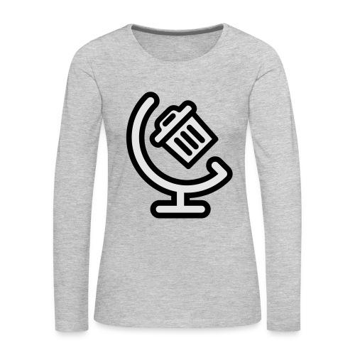 Global Waste t-shirt - Women's Premium Long Sleeve T-Shirt