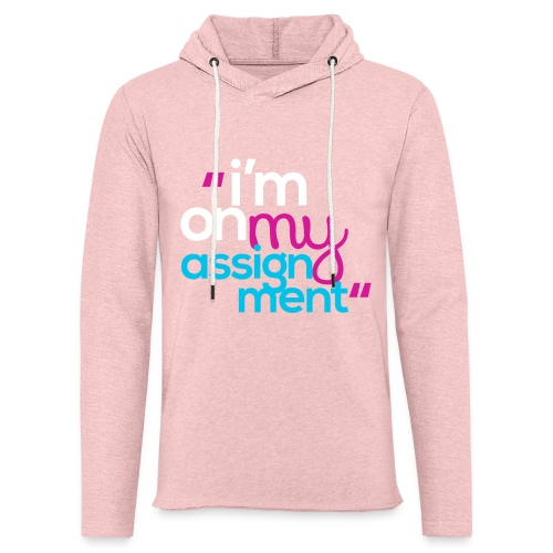 I'm On My Assignment - Unisex Lightweight Terry Hoodie