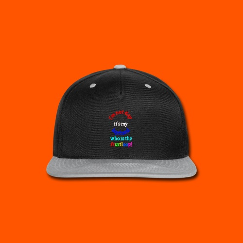 happy fun - Snap-back Baseball Cap