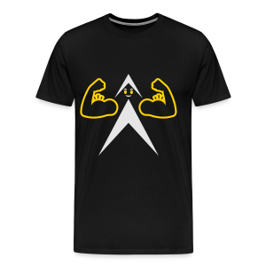 FUNNY BICEPS - Men's T-shirt - Men's Premium T-Shirt