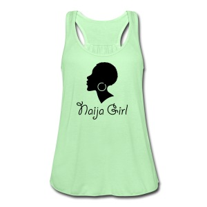 Naija Girl - Women's Flowy Tank Top by Bella