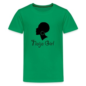 Naija Girl - Kids' Premium T-Shirt