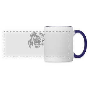 African Lion T-shirt - Panoramic Mug