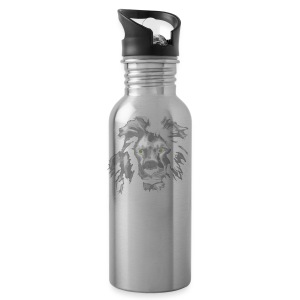 African Lion T-shirt - Water Bottle
