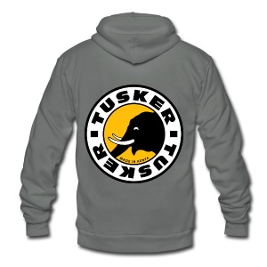 Tusker - Unisex Fleece Zip Hoodie by American Apparel