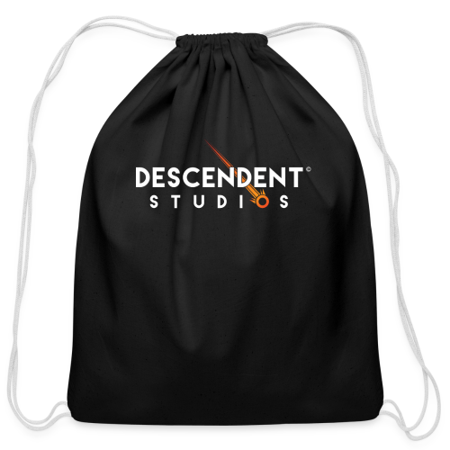Descendent Studios T-Shirt - Cotton Drawstring Bag