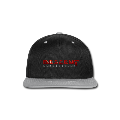 Descent: Underground T-Shirt - Snap-back Baseball Cap