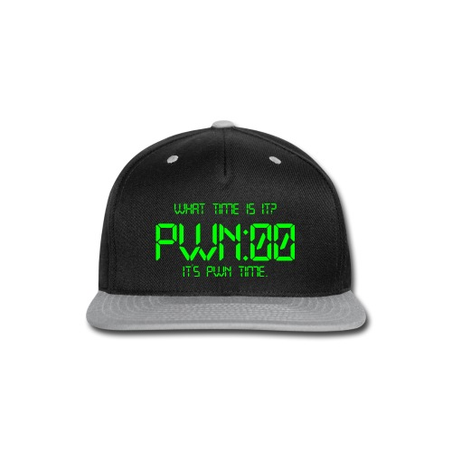 PWN time - Snap-back Baseball Cap