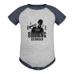 I Survived Fort Benning, Georgia - Baby Contrast One Piece