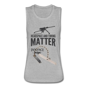 Headspace and Timing Matter! - Women's Flowy Muscle Tank by Bella