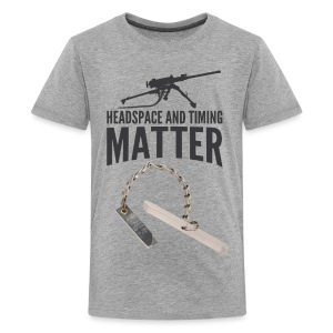 Headspace and Timing Matter! - Kids' Premium T-Shirt