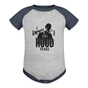 I Survived Fort Hood, TX - Baby Contrast One Piece