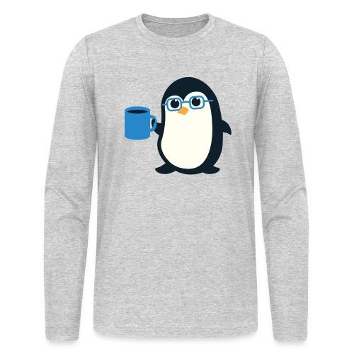 Penguin Coffee Cute - Blue Glasses