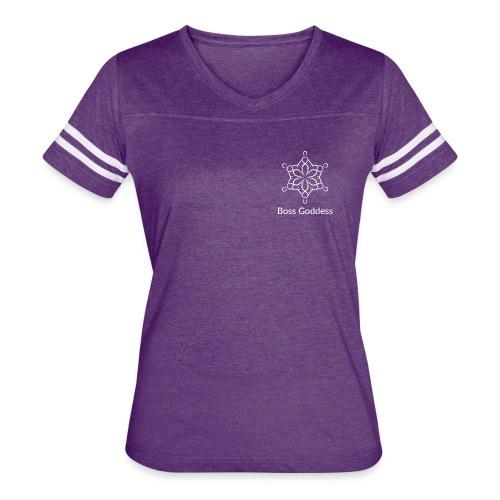 Boss Goddess Women's Logo Tee - Women's Vintage Sport T-Shirt