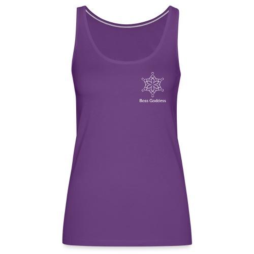 Boss Goddess Women's Logo Tee - Women's Premium Tank Top