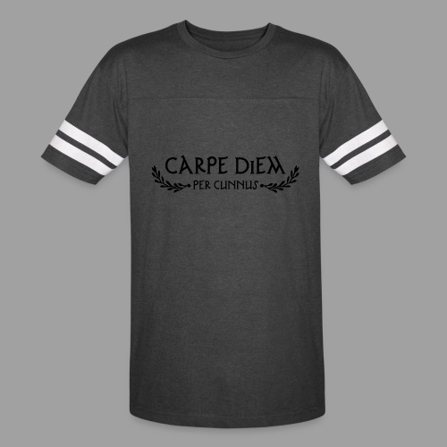 American Apparel Carpe Diem per Cunnus Men's Tee - Vintage Sport T-Shirt