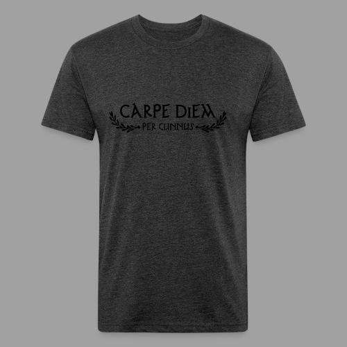 American Apparel Carpe Diem per Cunnus Men's Tee - Fitted Cotton/Poly T-Shirt by Next Level