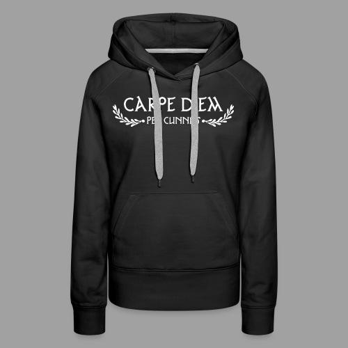 Carpe Diem Per Cunnus - Women's Premium Hoodie
