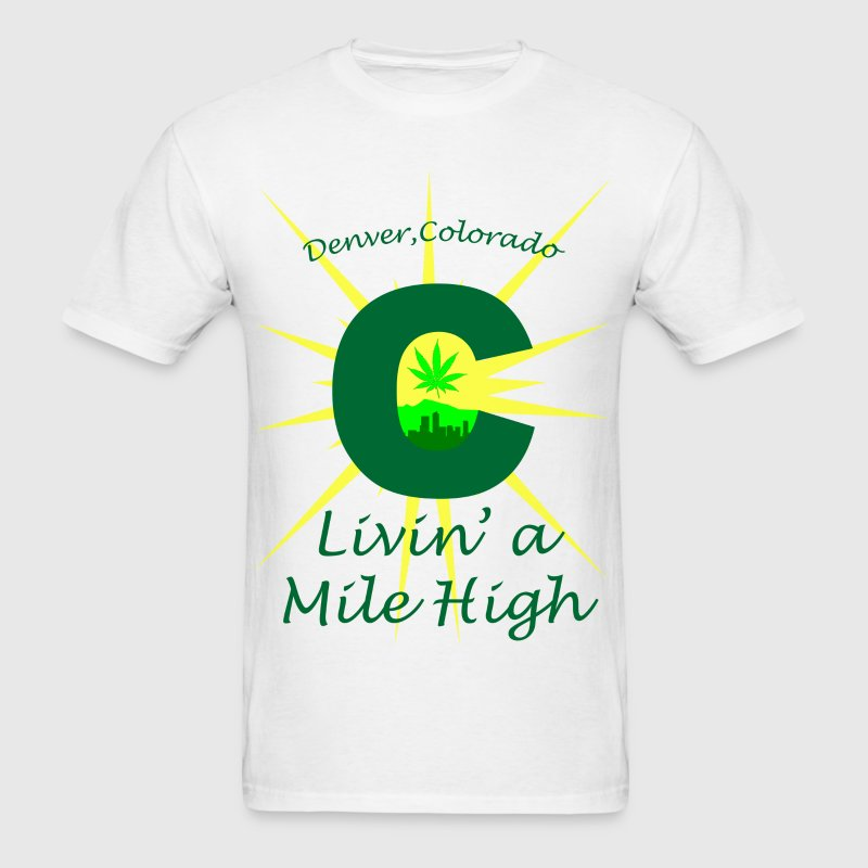 Colorado Mile High - Men's T-Shirt