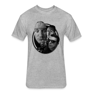 FOUR GOOD FRIENDS - Fitted Cotton/Poly T-Shirt by Next Level