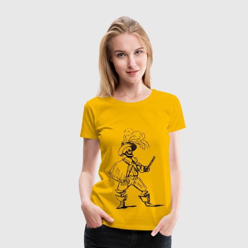Fighting skeleton - Women's Premium T-Shirt