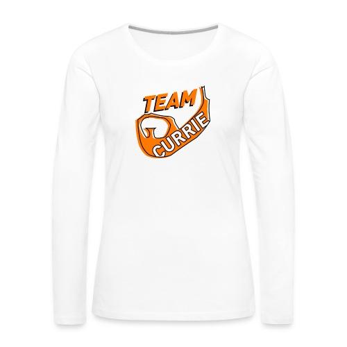 Team Currie (ladies) - Women's Premium Long Sleeve T-Shirt