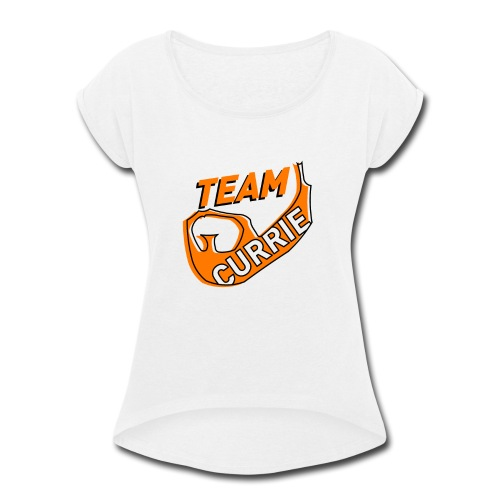 Team Currie (ladies) - Women's Roll Cuff T-Shirt