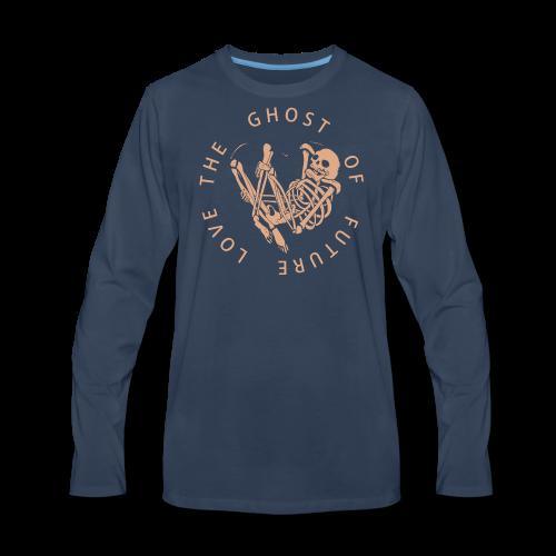 Ghost of future love - Men's Premium Long Sleeve T-Shirt