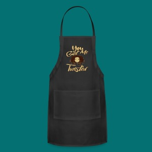 You Got Me Twisted T-Shirt - Adjustable Apron