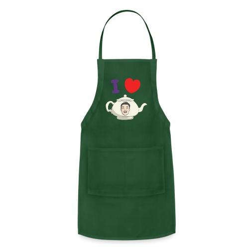 I Love Teapot - Adjustable Apron