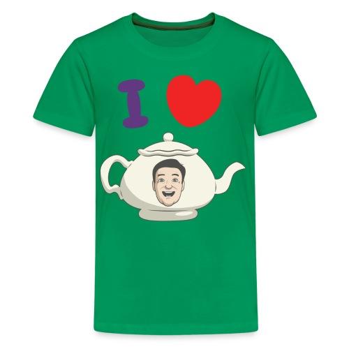I Love Teapot - Kids' Premium T-Shirt