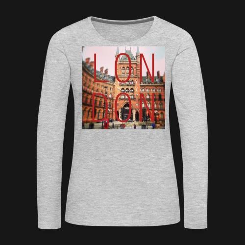 LON|DON | Women's T-shirt - Women's Premium Long Sleeve T-Shirt