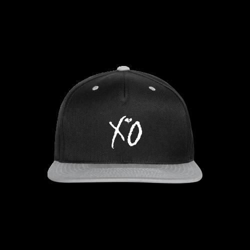 Classic Fan XO Logo Men's Hoodie - Snap-back Baseball Cap
