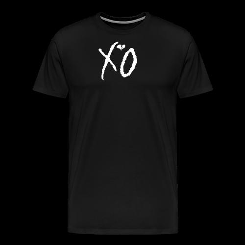 Classic Fan XO Logo Men's Hoodie - Men's Premium T-Shirt