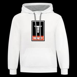 Trinity: Logo Tee - Contrast Hoodie