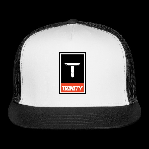 Trinity: Logo Tee - Trucker Cap