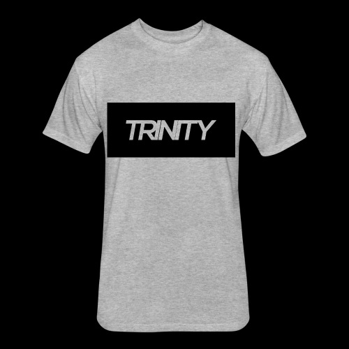 Trinity: Text Tee - Fitted Cotton/Poly T-Shirt by Next Level