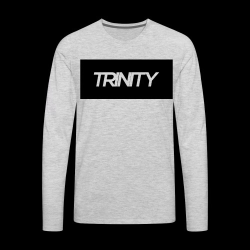 Trinity: Text Tee - Men's Premium Long Sleeve T-Shirt