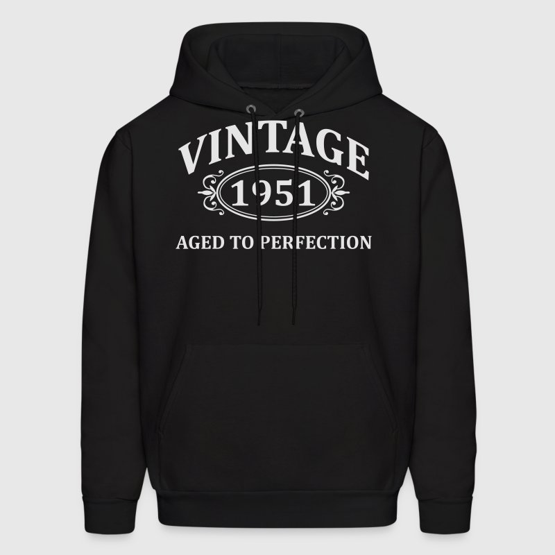 Vintage 1951 Aged to Perfection Hoodies - Men's Hoodie