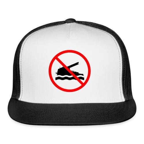 No Swimming (Women) - Trucker Cap