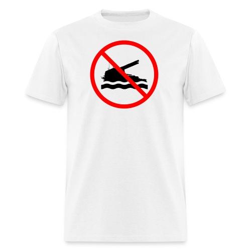 No Swimming (Women) - Men's T-Shirt