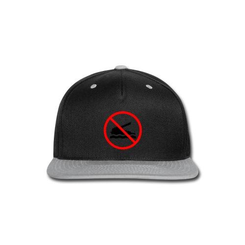 No Swimming (Women) - Snap-back Baseball Cap