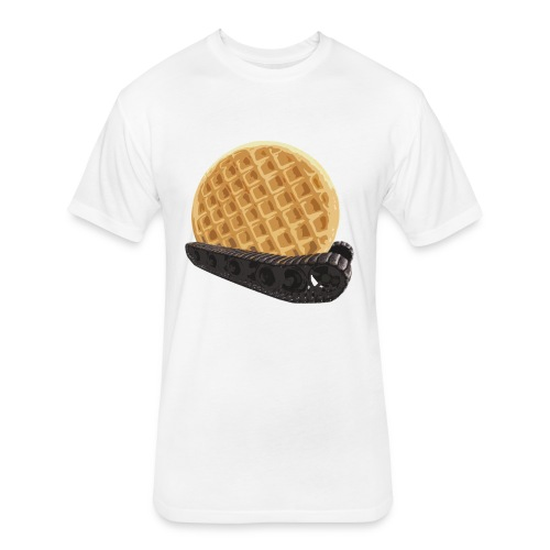 Waffletraktor (Women) - Fitted Cotton/Poly T-Shirt by Next Level