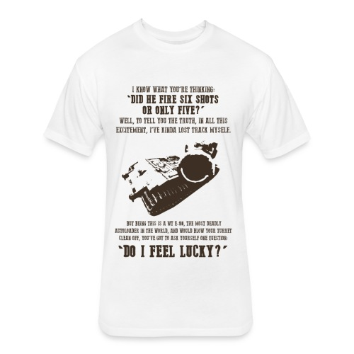 Dirty Waffle (Women) - Fitted Cotton/Poly T-Shirt by Next Level